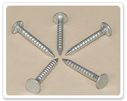 Rusppert 500 Hours Checkered Head Ring Shank Nail