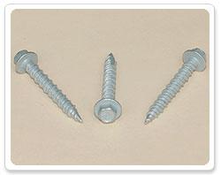 Mechanically Galvanized Hex Washer Head Hi-Lo Thread Type 17 Screw