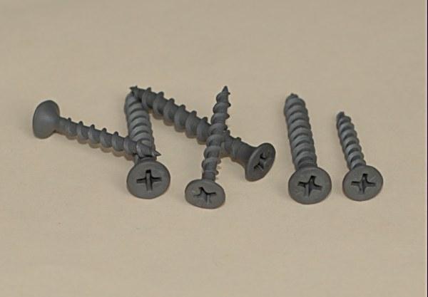 Gray Phosphate Phillips Bugle Head Coarse Thread Screw