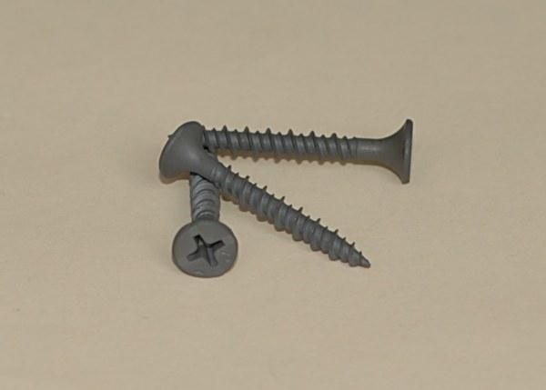 Gray Phosphate Phillips Bugle Head Hi-Lo Thread Screw